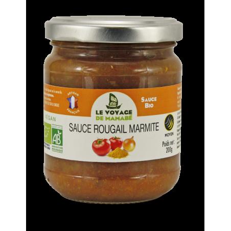 Le Voyage de mamabé - Sauce Rougail marmite bio