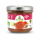 Pate pour curry rouge bio