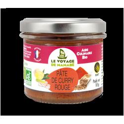 Le Voyage de mamabé - Pâte pour Curry rouge bio