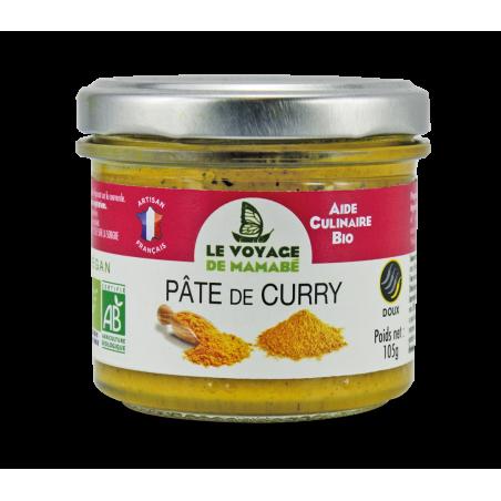 Le Voyage de mamabé - Pâte pour Curry bio