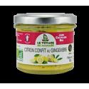 Citron confit au gingembre bio