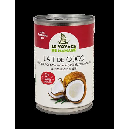 Le Voyage de mamabé - Lait de Coco bio