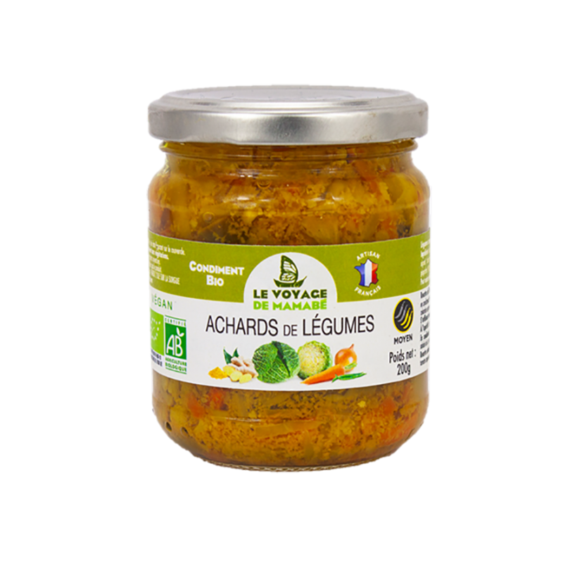 Le Voyage de mamabé - Achard de légumes bio